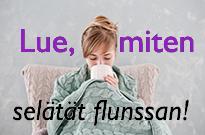 Näin selätät flunssan 2016 syksy